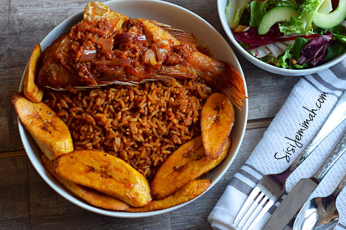 Nigerian party Jollof rice