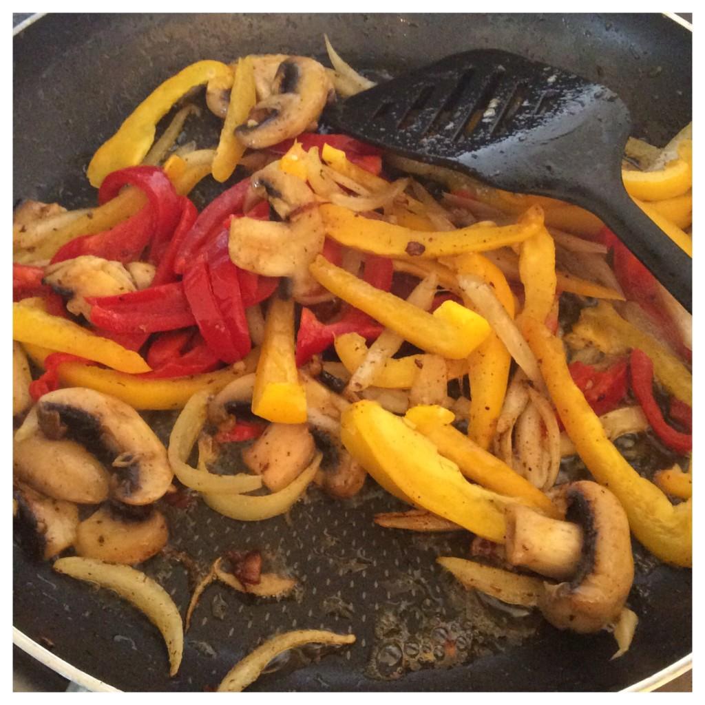 cajun chicken pasta prep