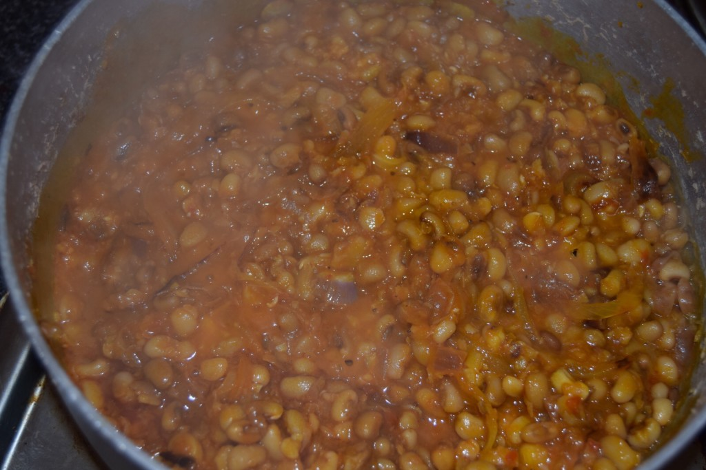 Adalu (beans and corn pottage)