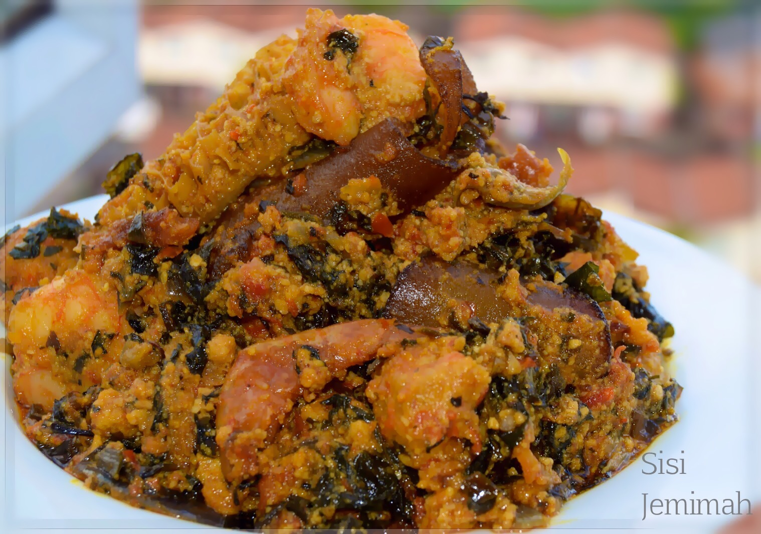 18 Pictures That Prove That Pounded Yam Is King Of All Other Pictures of pounded yam and egusi soup