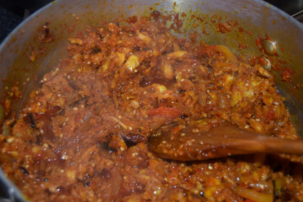 Garden egg stew 2