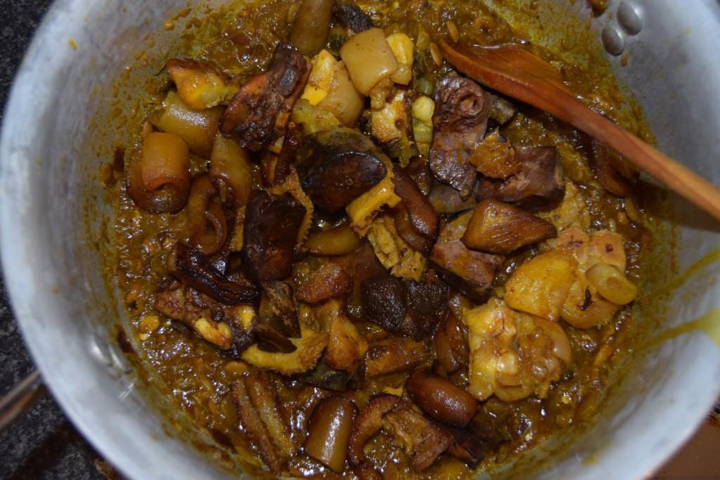 Ayamase ofada stew