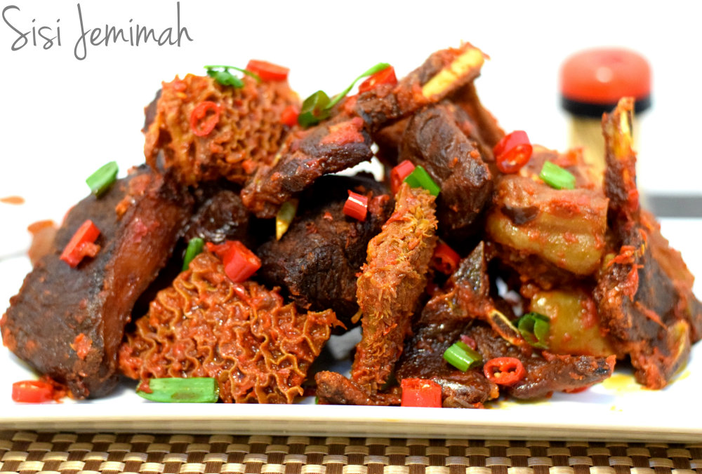 Nigerian Assorted Peppered Meats