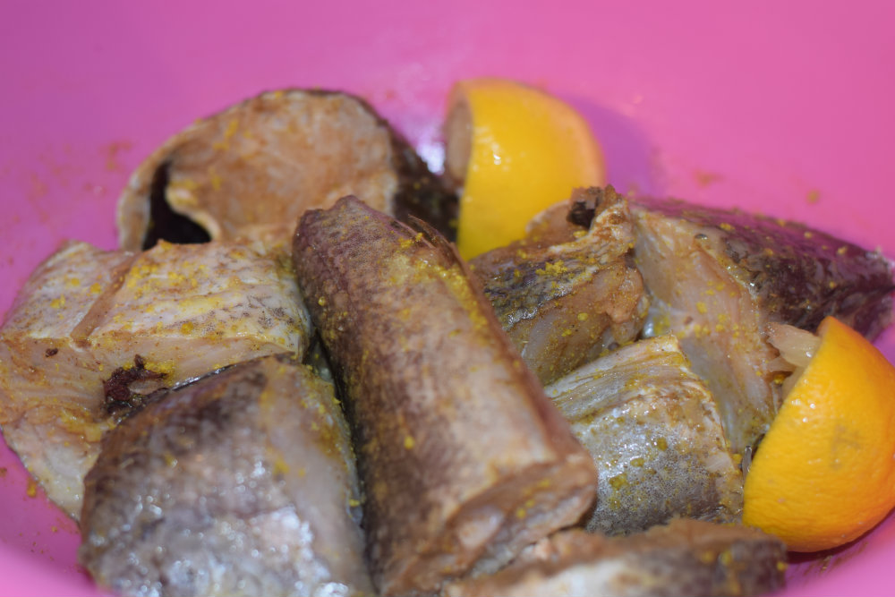 Hake fish for Nigerian fish stew