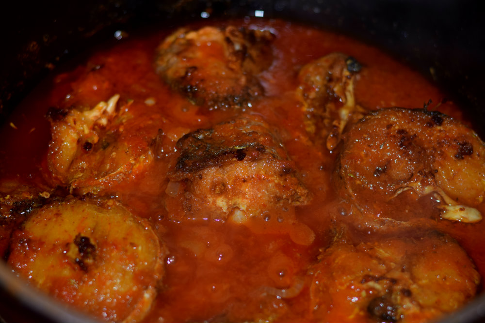 Nigerian fish stew 6
