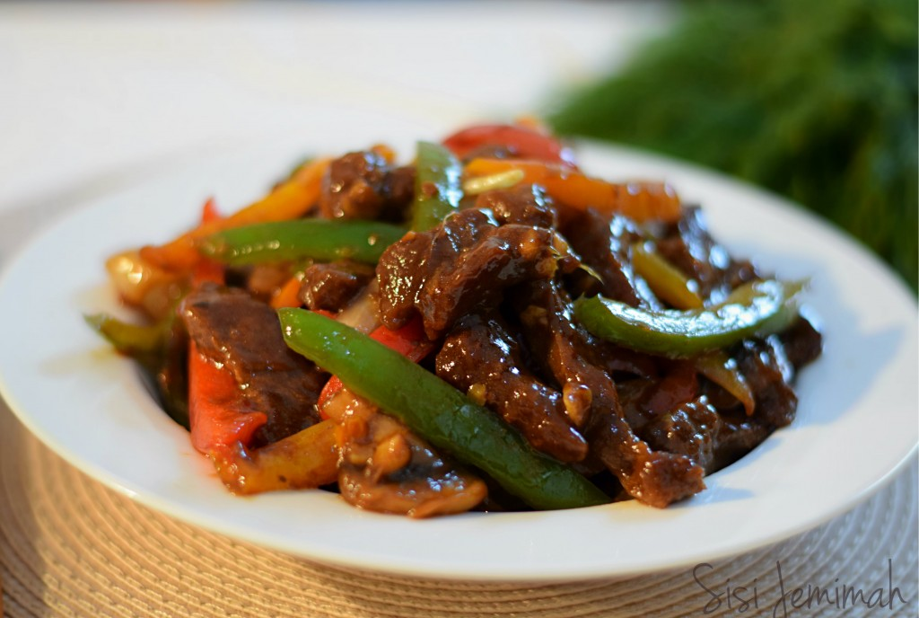 Shredded beef sauce 10