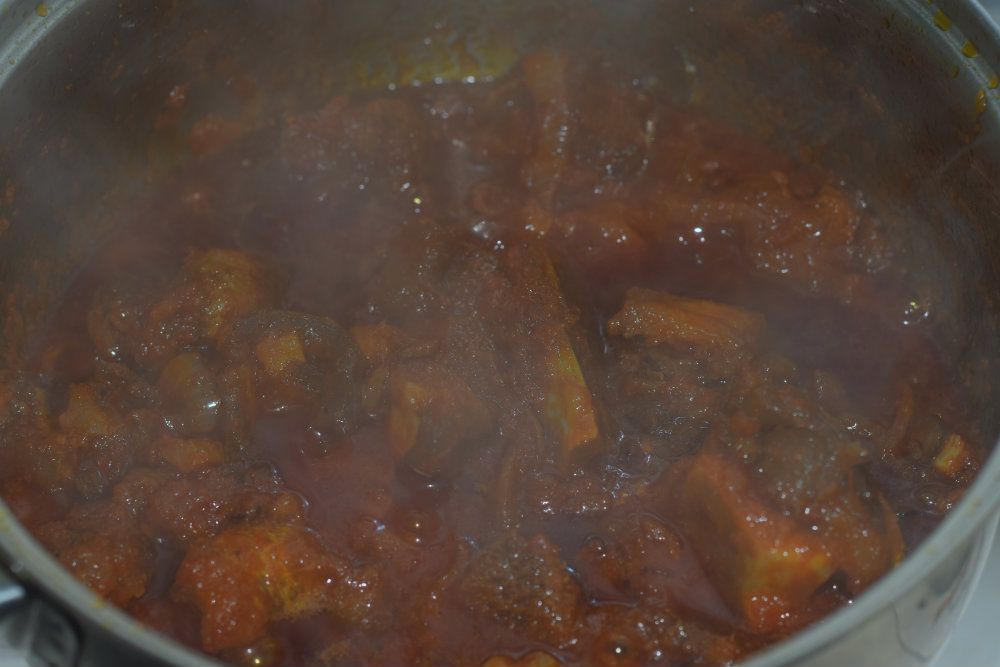 Fried Stew for Yam Porridge 3