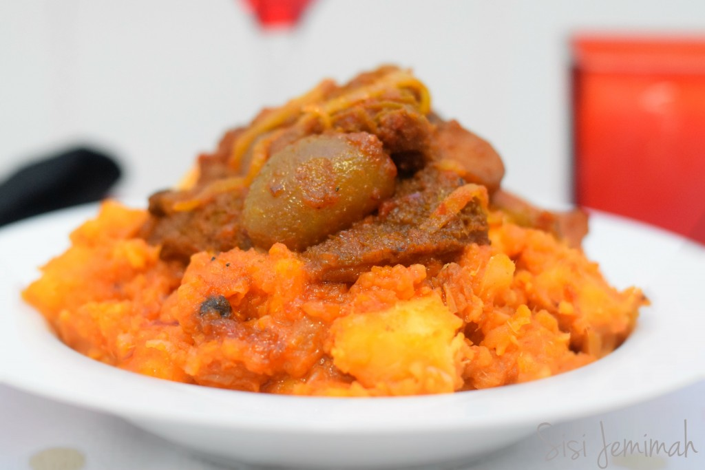 YAM PORRIDGE WITH PLANTAINS (VIDEO) |Yam Porridge Recipe