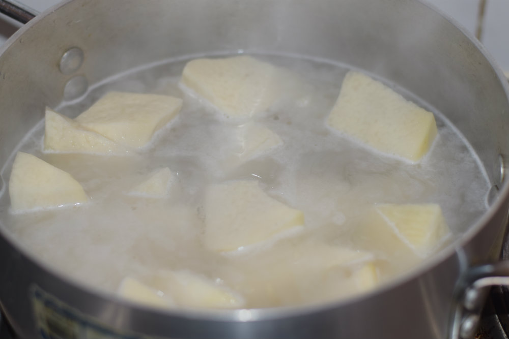 Yam porridge 3