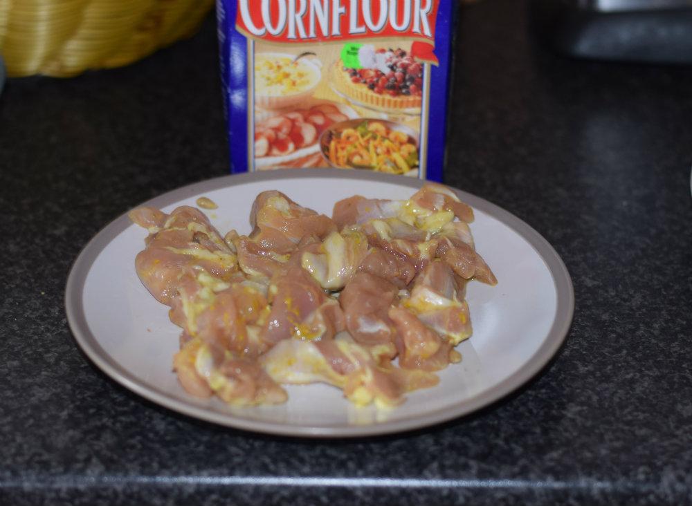 Chicken and Mushroom stir fry 9