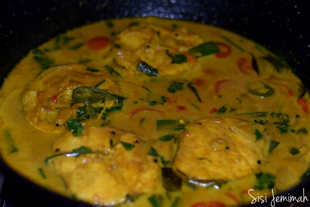 Coconut fish curry 10