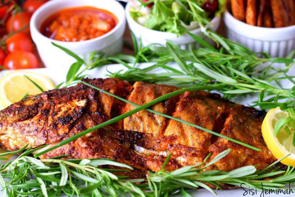 Spicy grilled fish 11