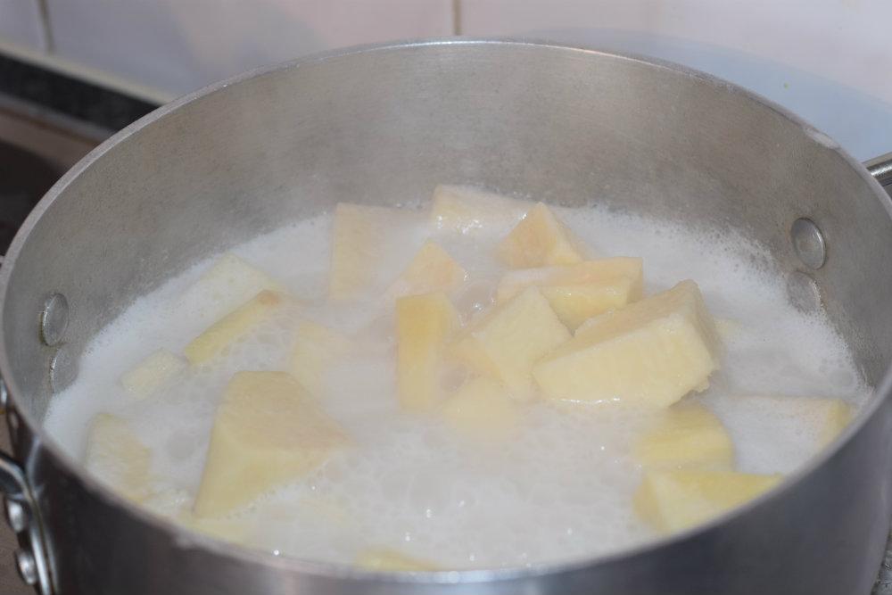 coconut yam porridge 9