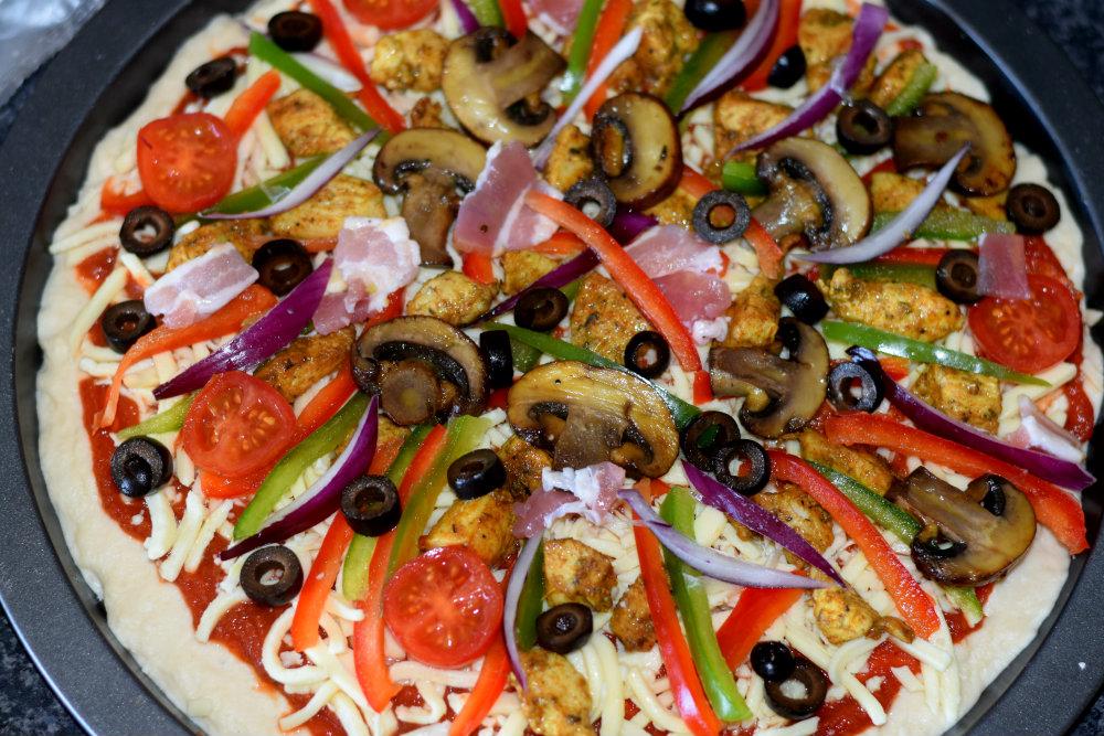 homemade pizza 18