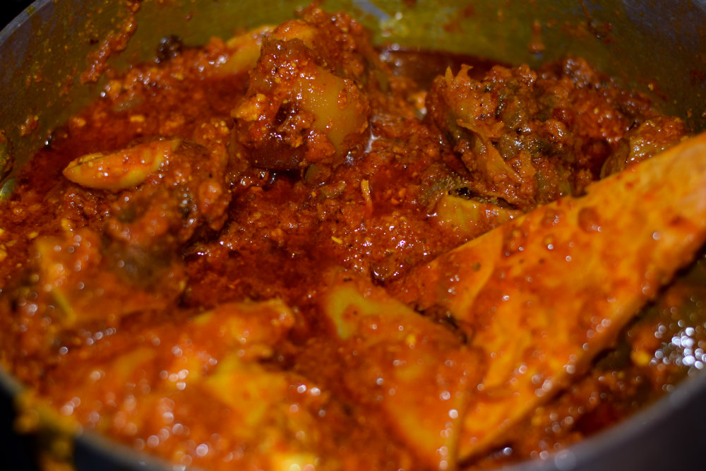 Egusi Soup with Okazi 11