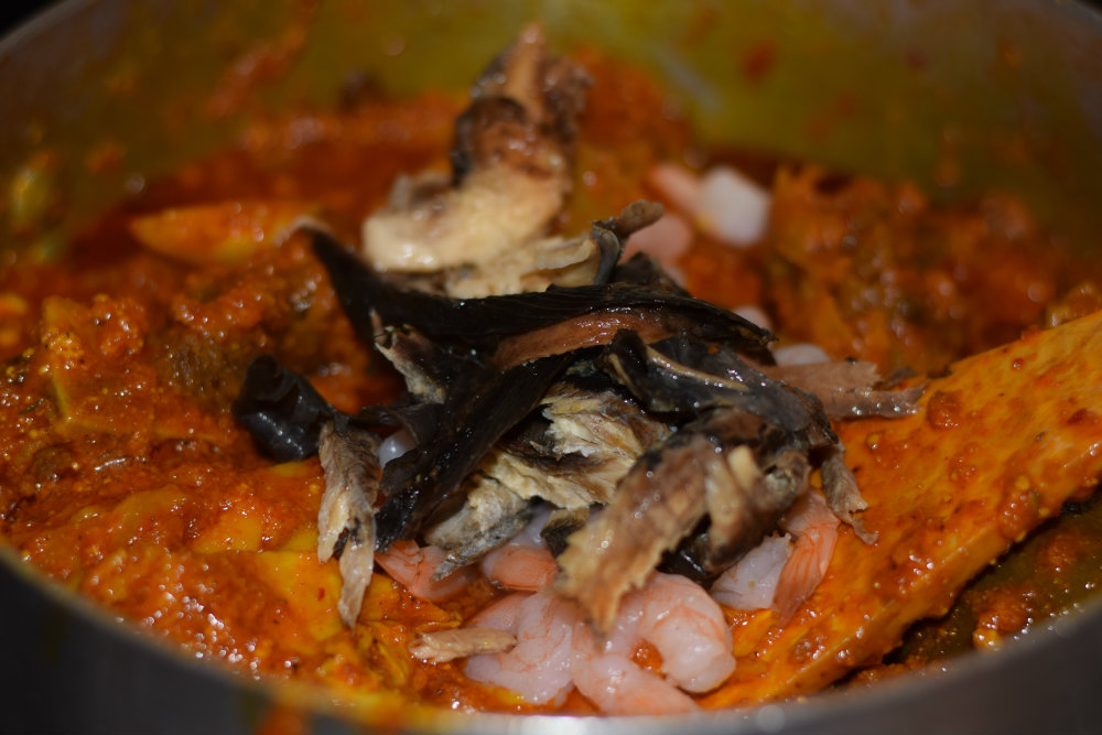 Egusi Soup with Okazi 12