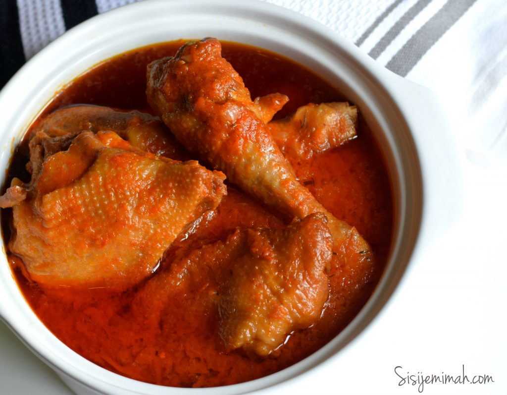 Nigerian Chicken Stew With Roasted Peppers Sisi Jemimah