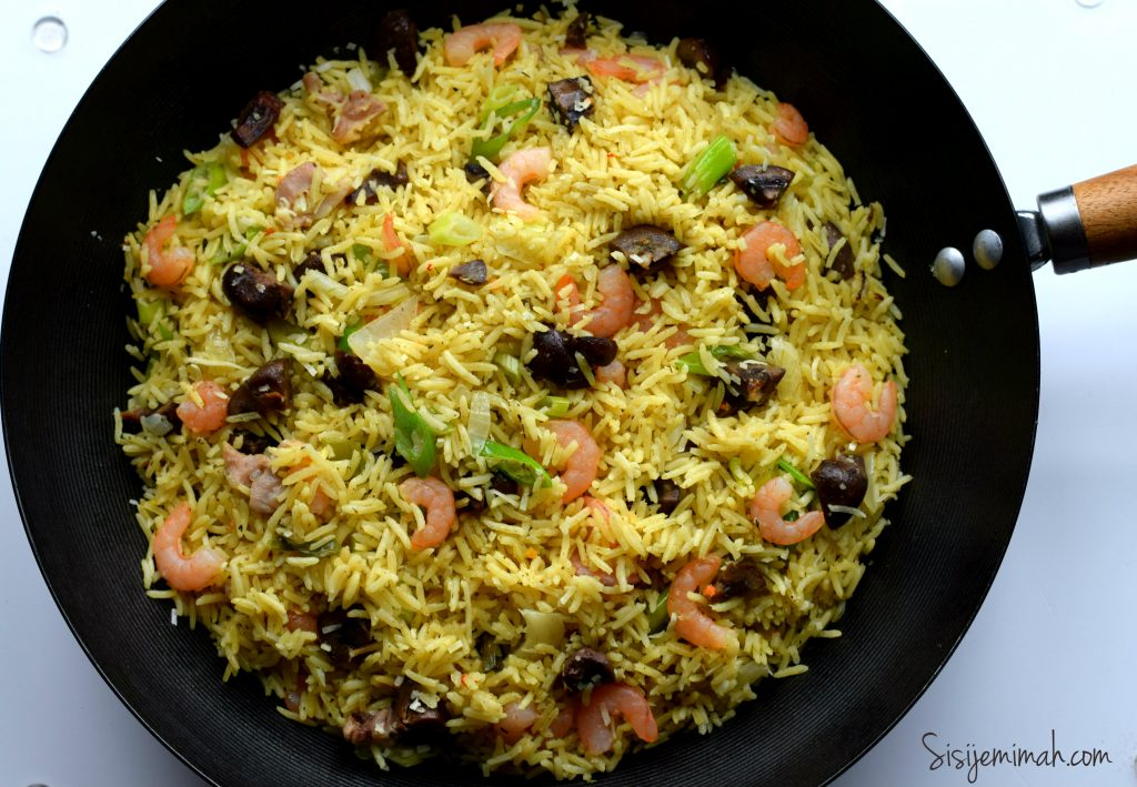 Nigerian Coconut rice 13