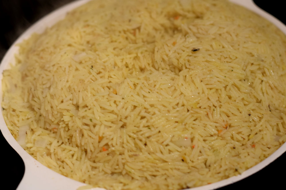 Nigerian Coconut rice 6