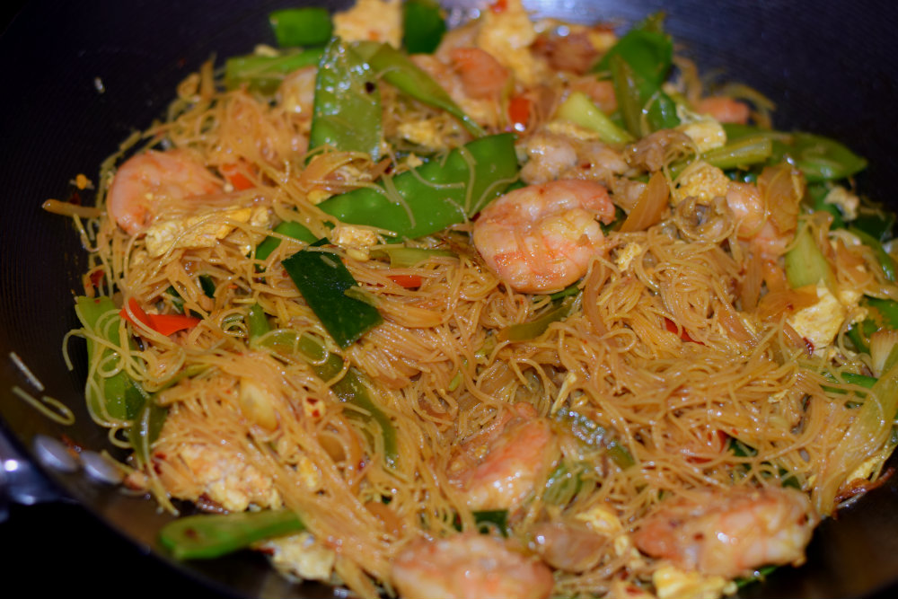 singaporean style rice noodles 16