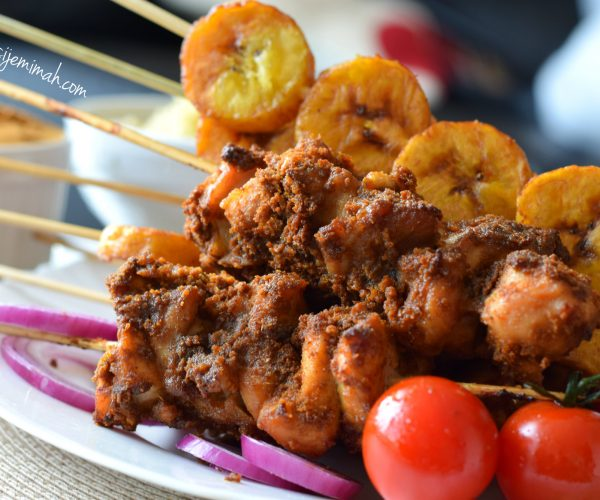 chicken suya