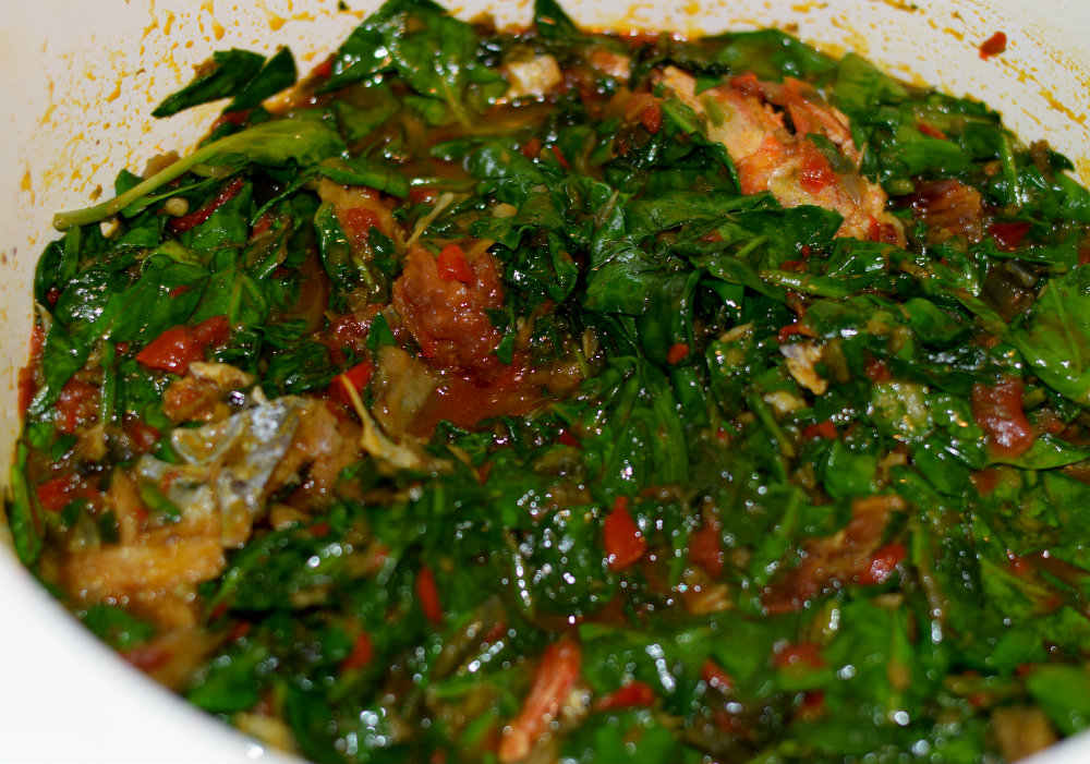 Mixed vegetable sauce