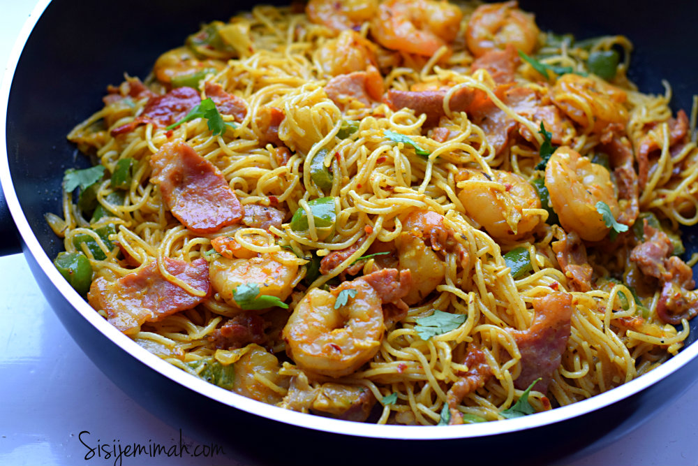 Shrimp And Bacon Pasta Recipe - Sisi Jemimah