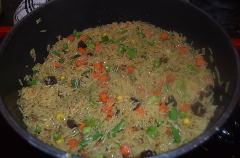 basmati fried rice