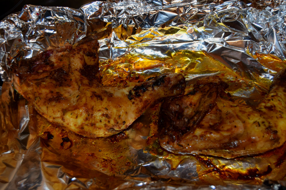Oven Roasted Chicken Leg Quarters Sisi Jemimah