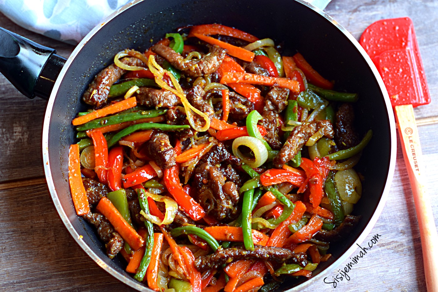 Chinese Beef Stir Fry With Crunchy Vegetables