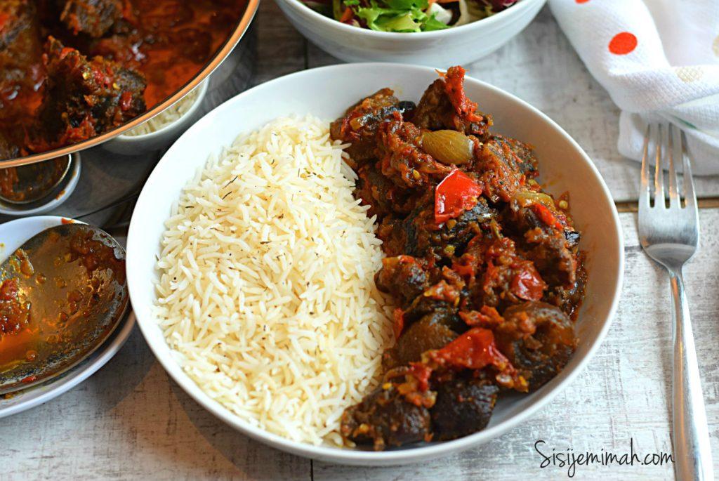 Nigerian pepper sauce