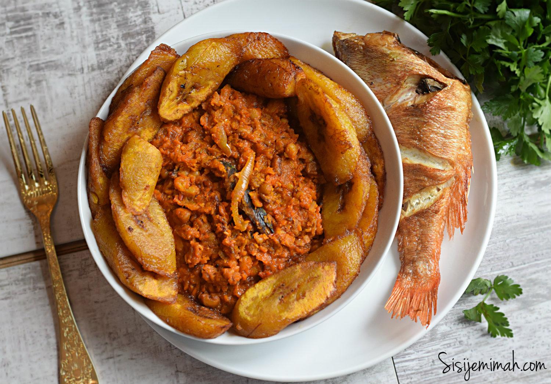Nigerian stewed beans