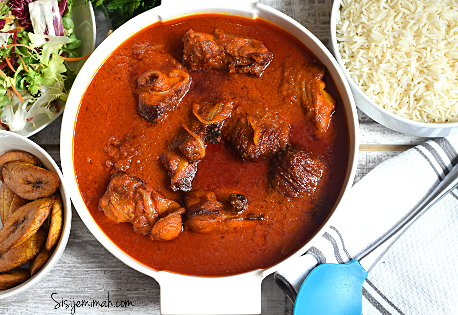 nigerian smoked turkey stew