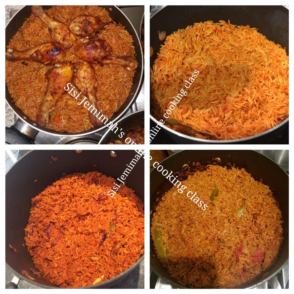 Sisi jemimah's cooking class