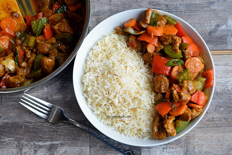 Spicy turkey veggie sauce
