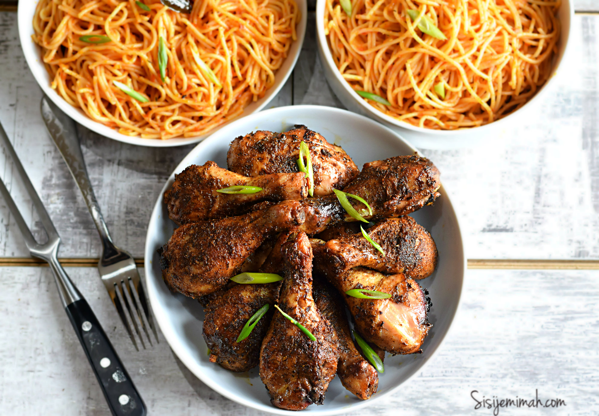Baked Jerk Chicken Drumsticks Recipe