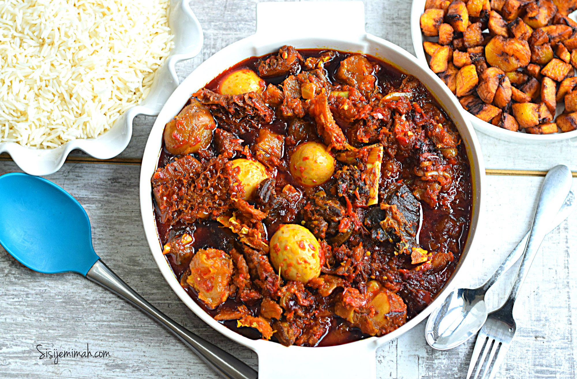 palm oil stew