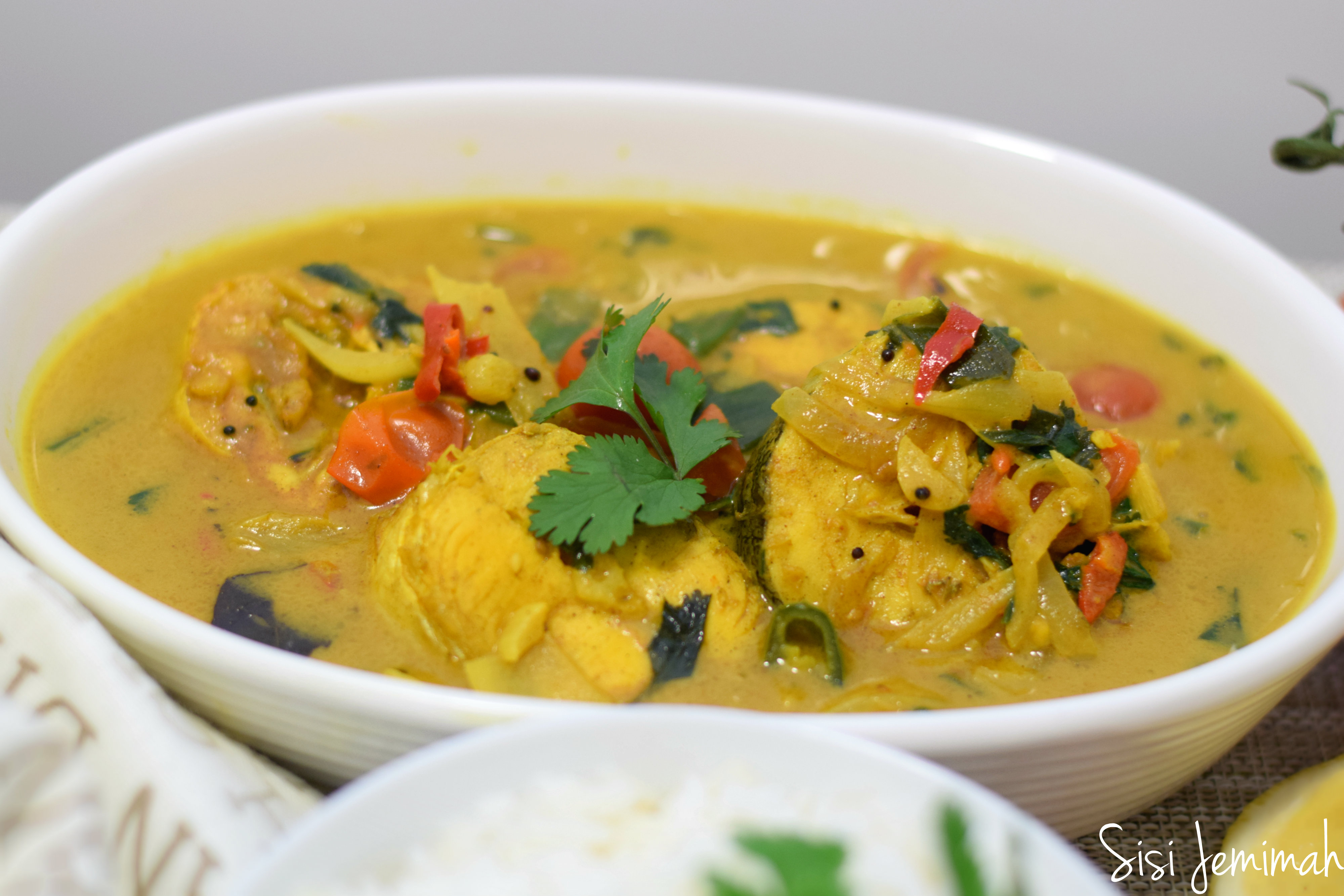 Coconut Fish Curry - Sisi Jemimah