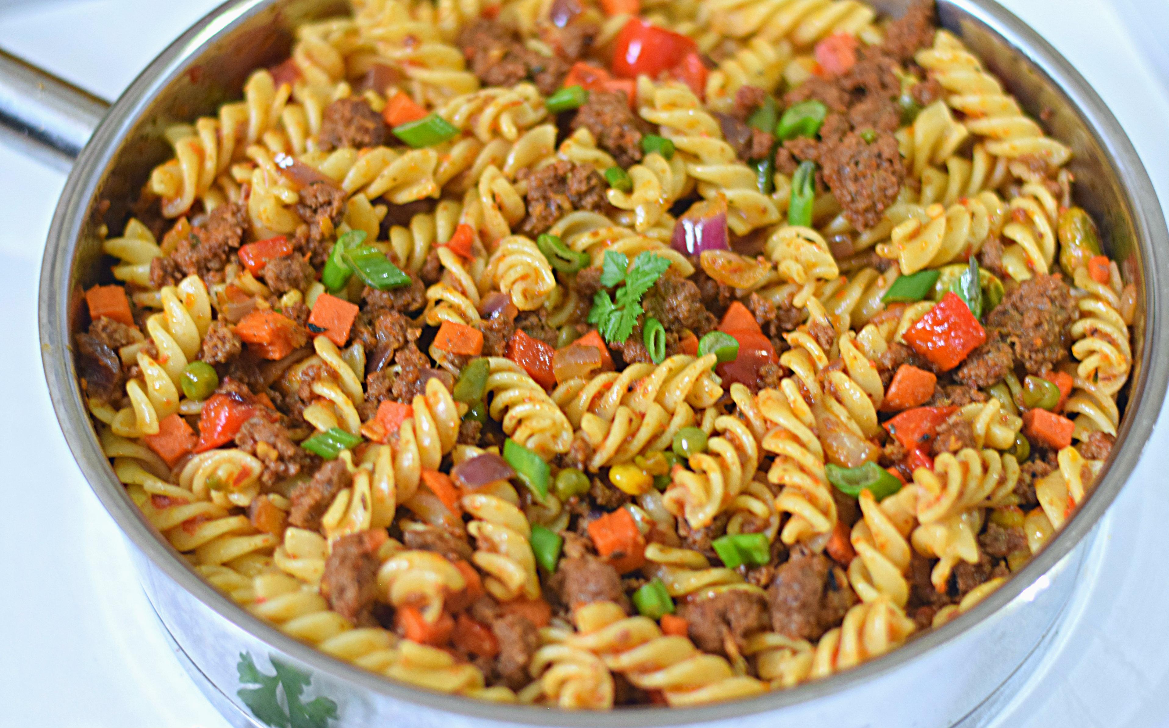 Easy Mince Meat Tomato Pasta Sisi Jemimah