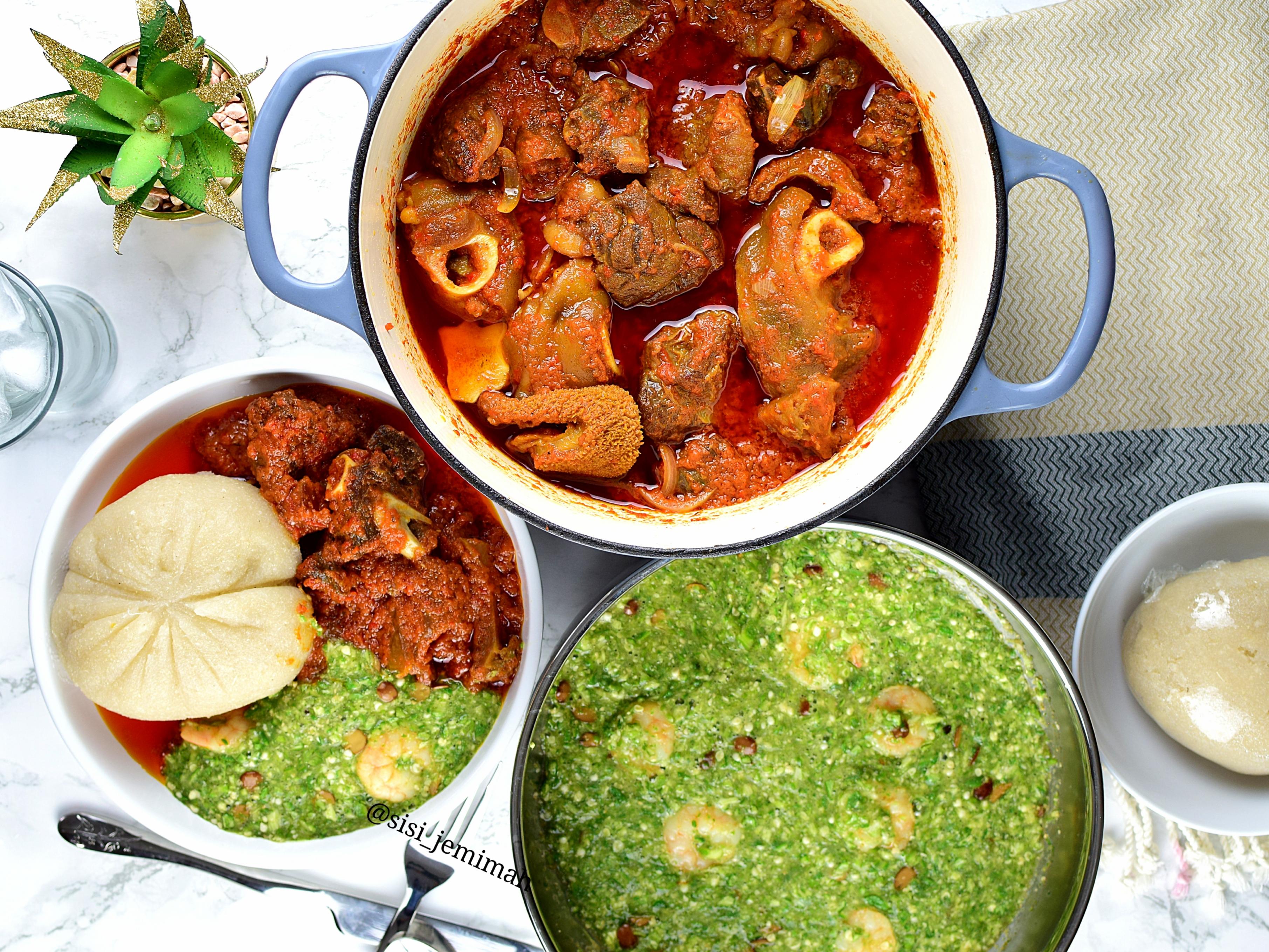 Nigerian Plain Okra Soup Recipe Sisi Jemimah